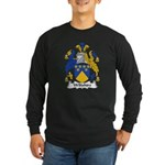 Wiltshire Family Crest Long Sleeve Dark T-Shirt