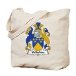 Wiltshire Family Crest Tote Bag