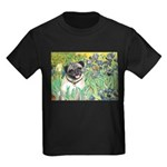 Irises / Pug Kids Dark T-Shirt