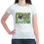 Irises / Pug Jr. Ringer T-Shirt