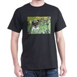 Irises / Pug Dark T-Shirt