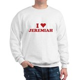 I LOVE JEREMIAH Jumper