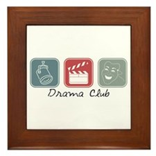 Drama Club (Squares) Framed Tile