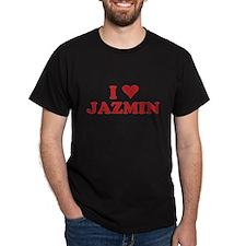 I LOVE JAZMIN T-Shirt