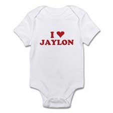 I LOVE JAYLON Infant Bodysuit
