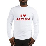 I LOVE JAYLEN Long Sleeve T-Shirt