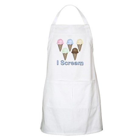 I Scream BBQ Apron