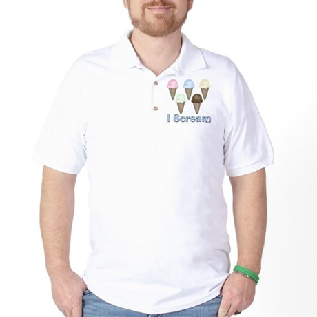 I Scream Golf Shirt