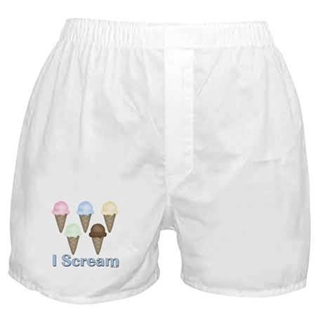 I Scream Boxer Shorts