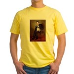 Lincoln's Pug Yellow T-Shirt