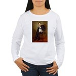Lincoln's Pug Women's Long Sleeve T-Shirt