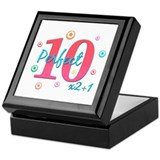 Perfect 10 x2+1 Keepsake Box