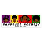 Napptual Beauty Bumper Sticker