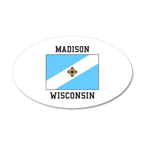 Madison, Wisconsin Wall Decal