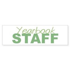 Yearbook Staff Bumper Bumper Sticker