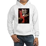 Lady / Pug Hooded Sweatshirt