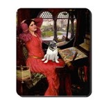 Lady / Pug Mousepad