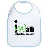 I Walk For Lymphoma Bib