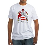Wiles Family Crest Fitted T-Shirt