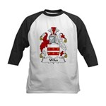 Wiles Family Crest Kids Baseball Jersey