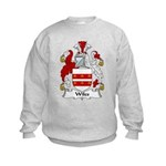 Wiles Family Crest Kids Sweatshirt
