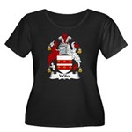 Wiles Family Crest Women's Plus Size Scoop Neck Da