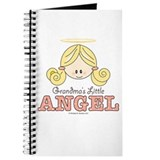 Grandma's Little Angel Pink Brown Journal