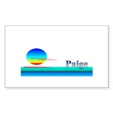 Paola Rectangle Decal