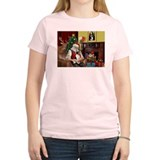 Santa & Toy Fox Terrier T-Shirt