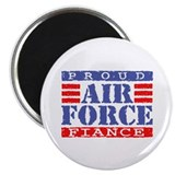 Proud Air Force Fiance Magnet