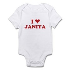 I LOVE JANIYA Infant Bodysuit