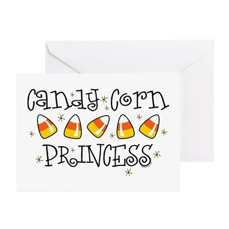 Candy Corn Princess Greeting Cards (Pk of 10)