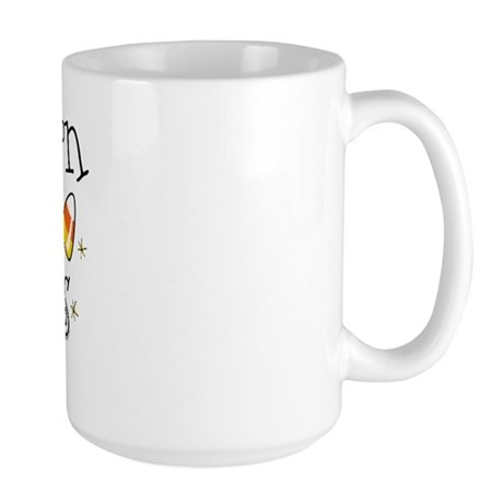 Candy Corn Princess Large Mug