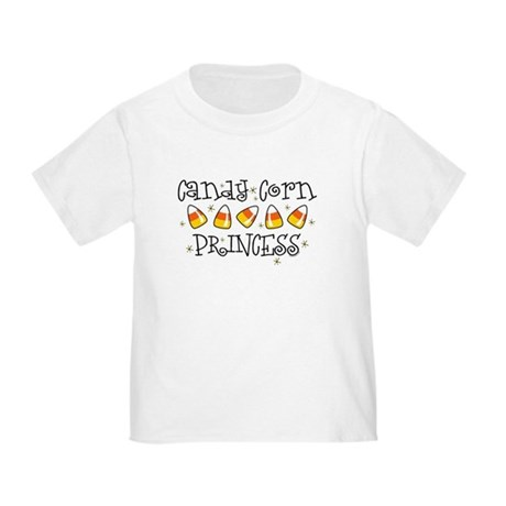 Candy Corn Princess Toddler T-Shirt