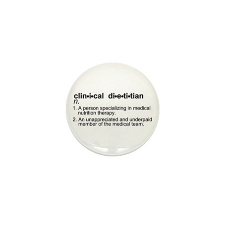 Clinical Dietitian Mini Button