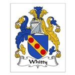Whitty Family Crest Small Poster