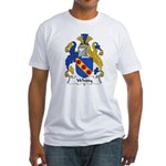 Whitty Family Crest Fitted T-Shirt