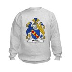 Whitty Family Crest Kids Sweatshirt