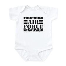 Proud Air Force Niece Infant Bodysuit
