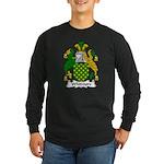 Whitmore Family Crest Long Sleeve Dark T-Shirt
