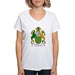 Whitmore Family Crest Women's V-Neck T-Shirt