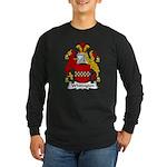 Whitington Family Crest Long Sleeve Dark T-Shirt