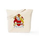 Whitington Family Crest Tote Bag