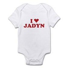 I LOVE JADYN Infant Bodysuit