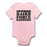 Proud Air Force Nephew Onesie