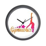 Gymnastics! Wall Clock