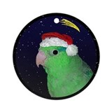 Christmas Night Parrotlet Christmas Ornament