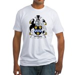 Whipple Family Crest Fitted T-Shirt