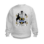 Whipple Family Crest Kids Sweatshirt