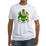 Wheler Family Crest Fitted T-Shirt